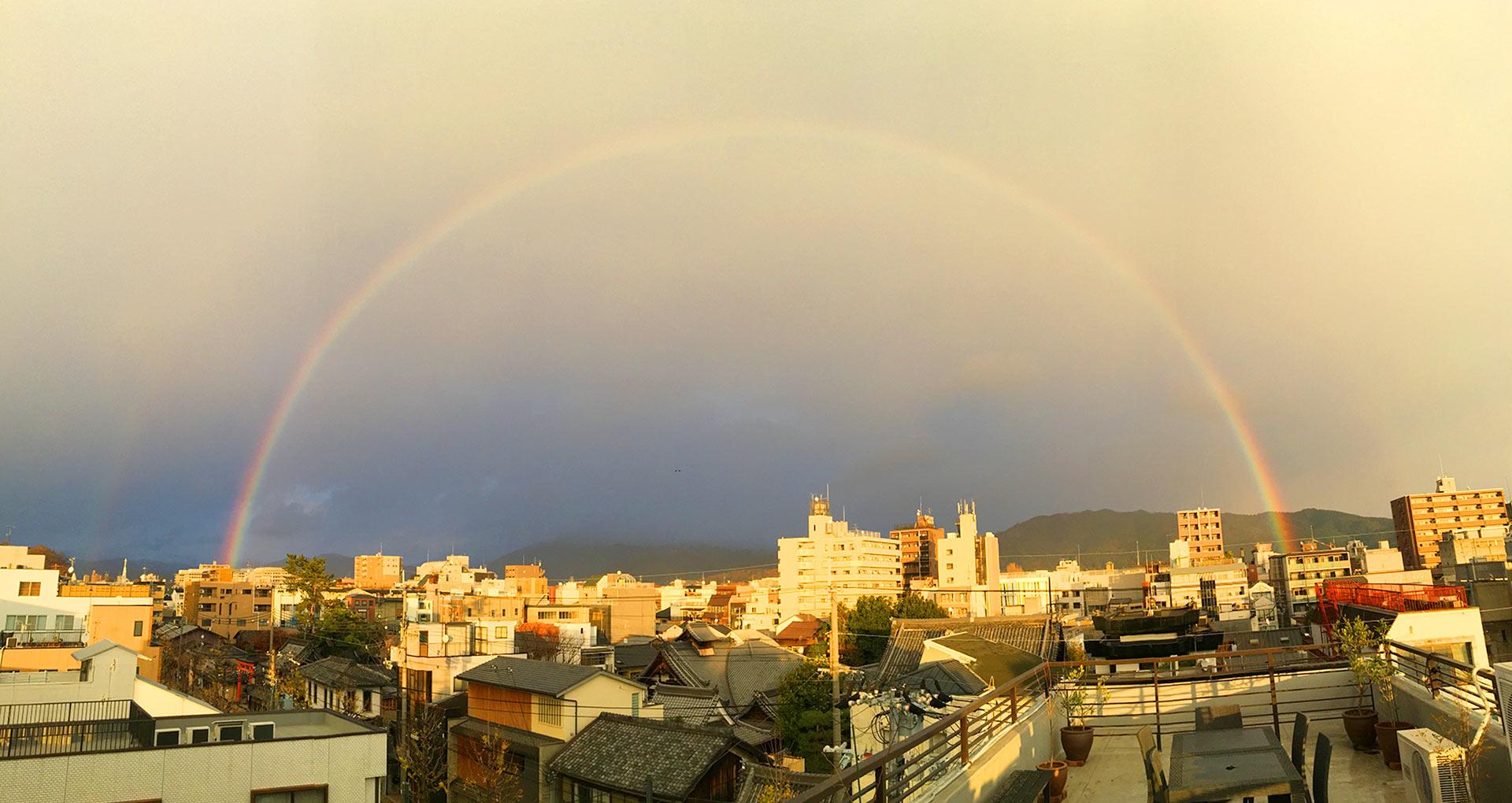 12月14日の虹
