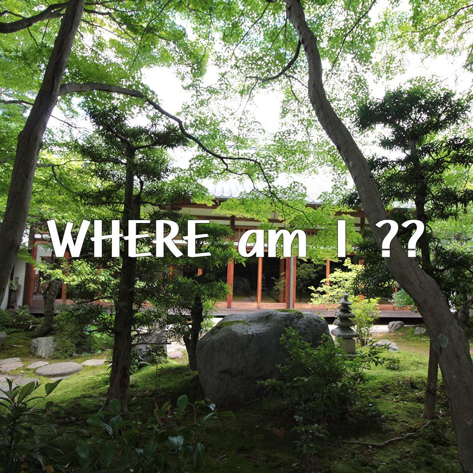 正覚庵のここはどこ?